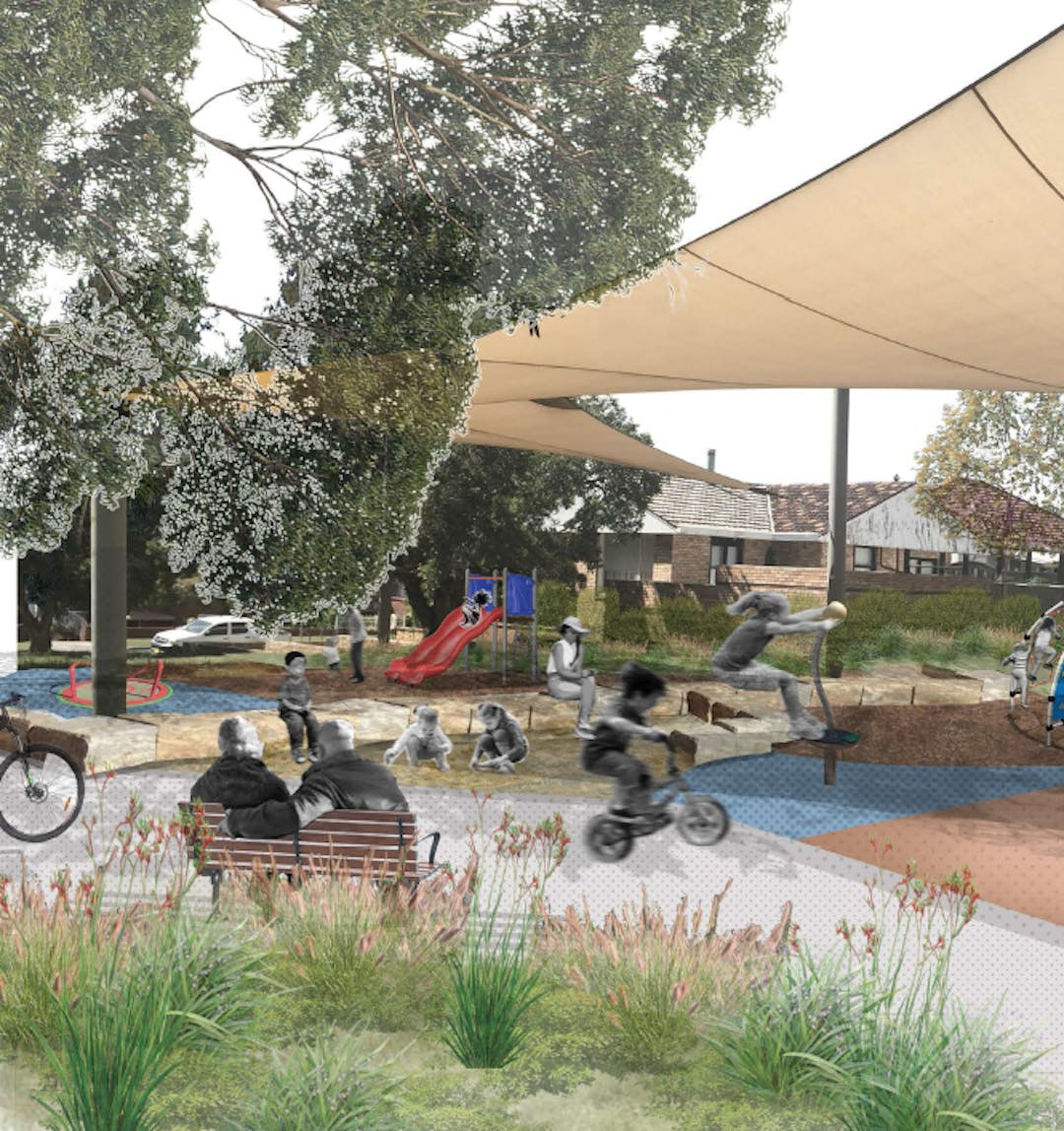 Moorfield reserve   project image