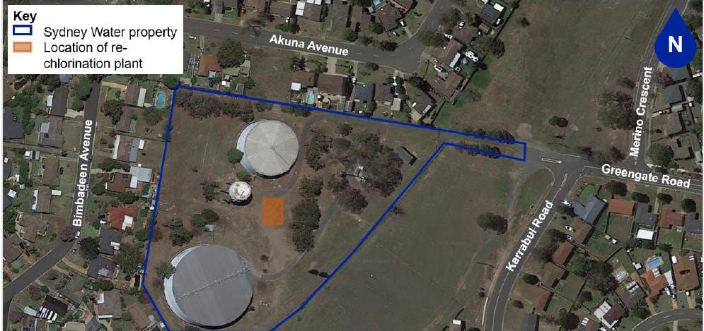 Campbelltown South Reservoir - new Re-chlorination plant
