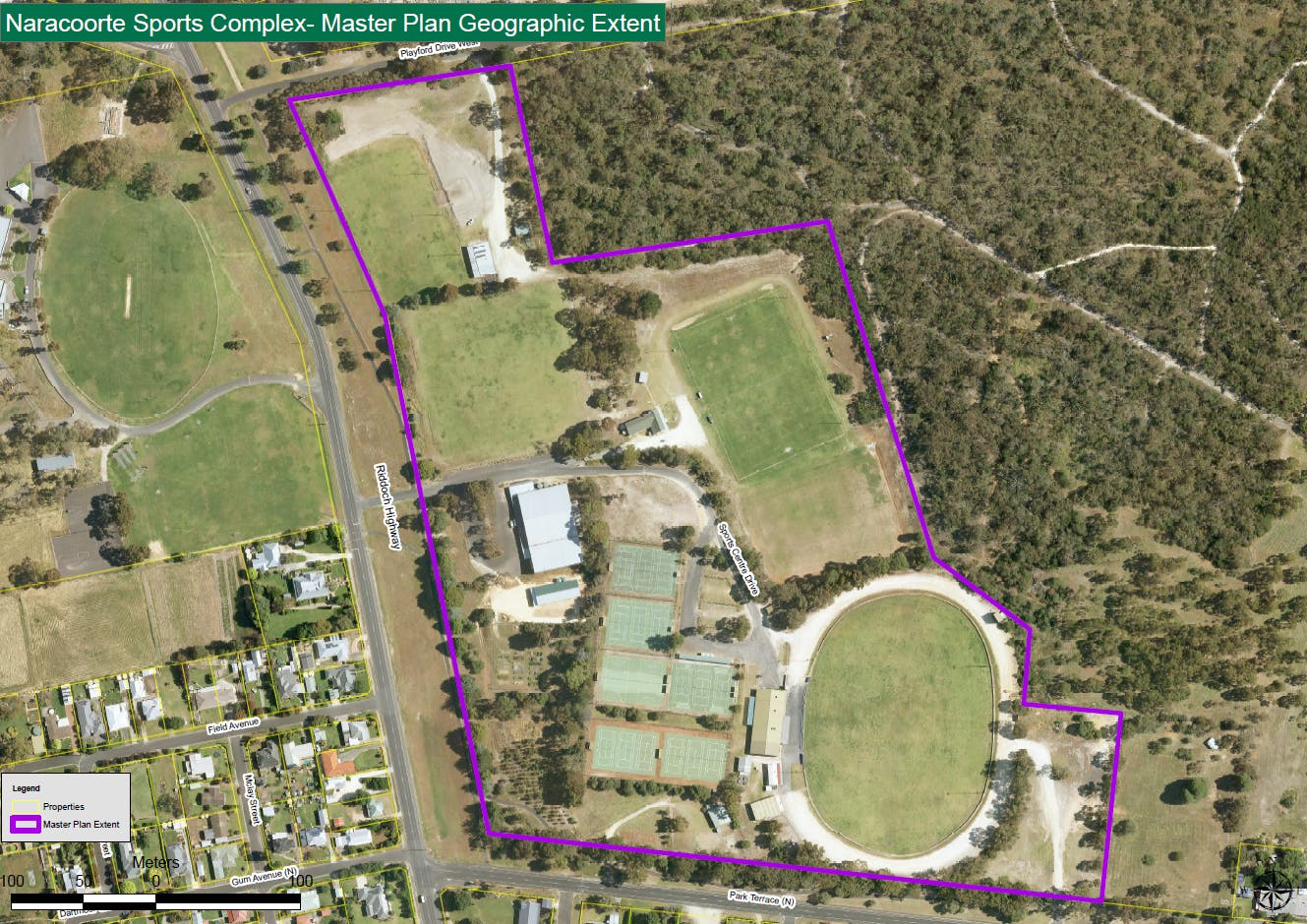 Sports Centre Master Plan