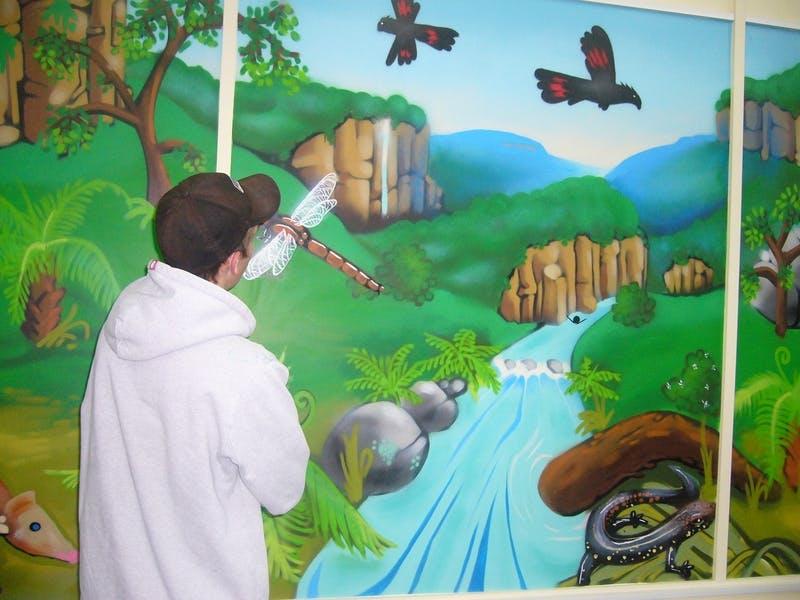 Aerosol art, Blaxland