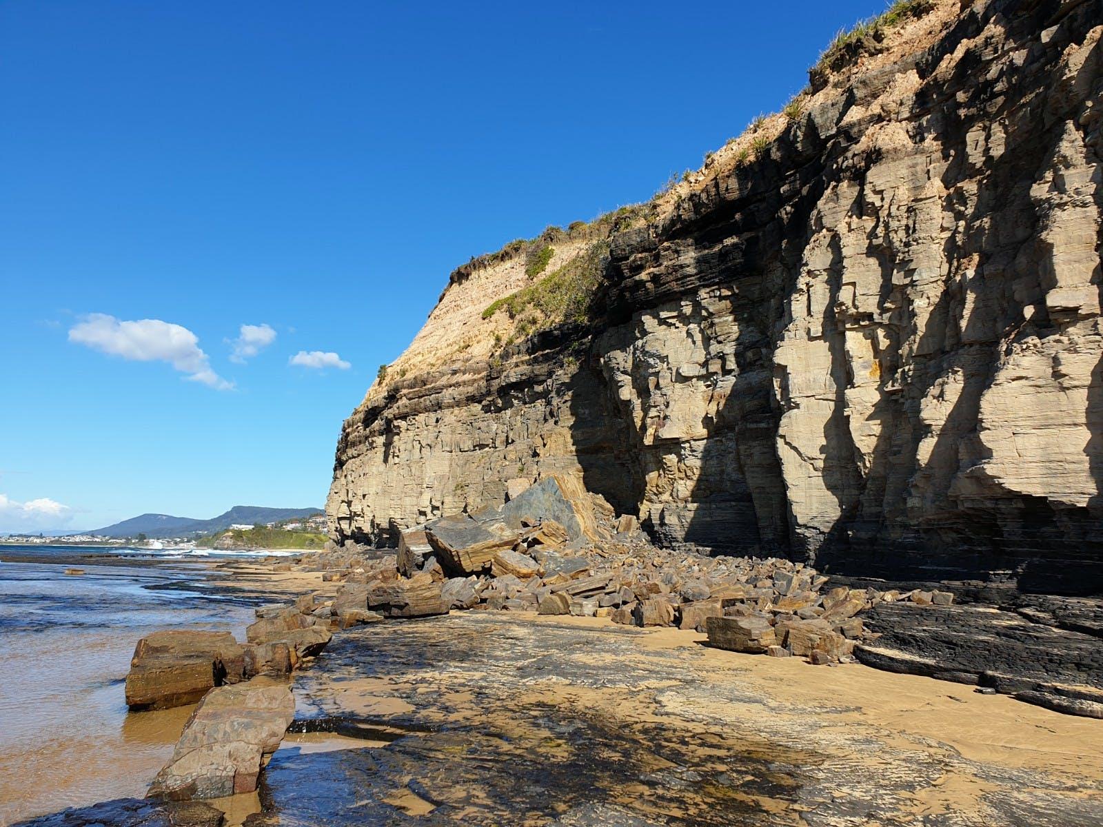 Cliff at Brickyard Point