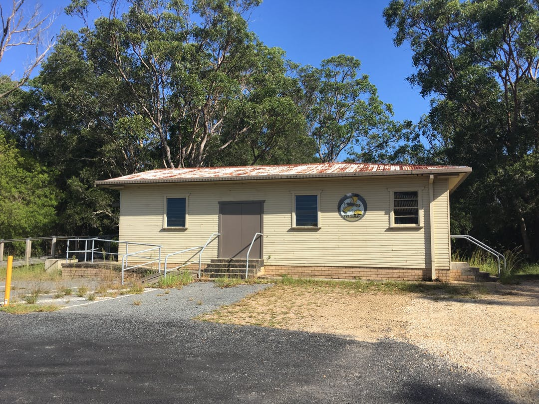 Picture of Tyagarah Hall near the Tyagarah airfield in the Byron Shire.
