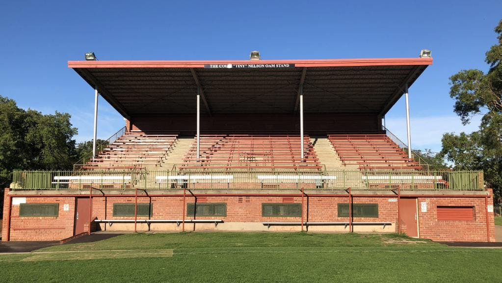Goodwood Oval existing grandstand - 1