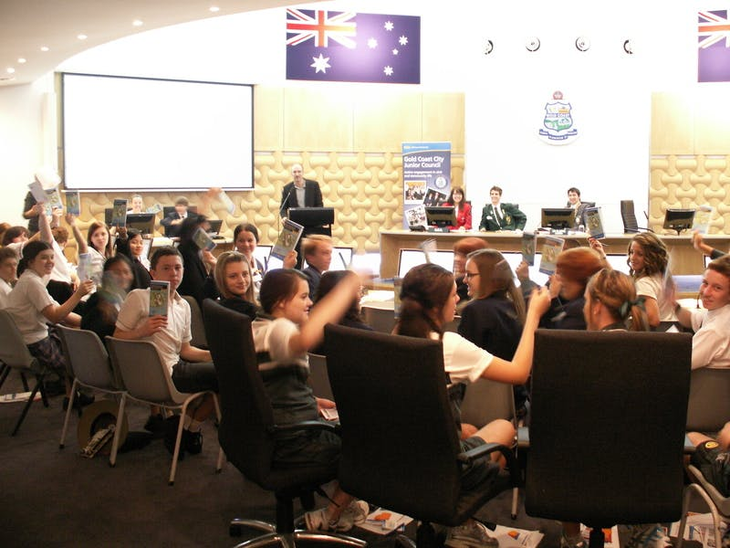 Consultation with the Gold Coast Junior Council
