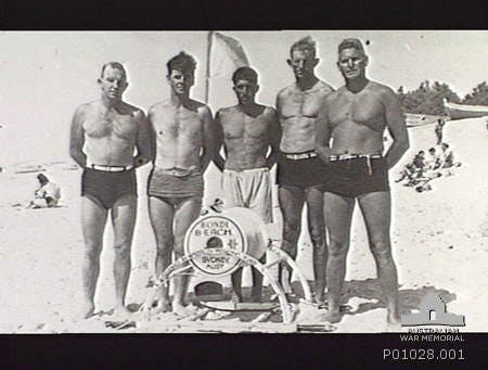 Palestine. 2nd AIF, with a Bondi Bondi Beach Surf Reel