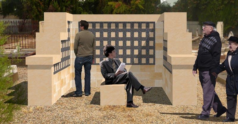 Columbarium Wall Option 2