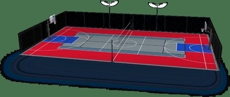 Multi sport courts concept 1