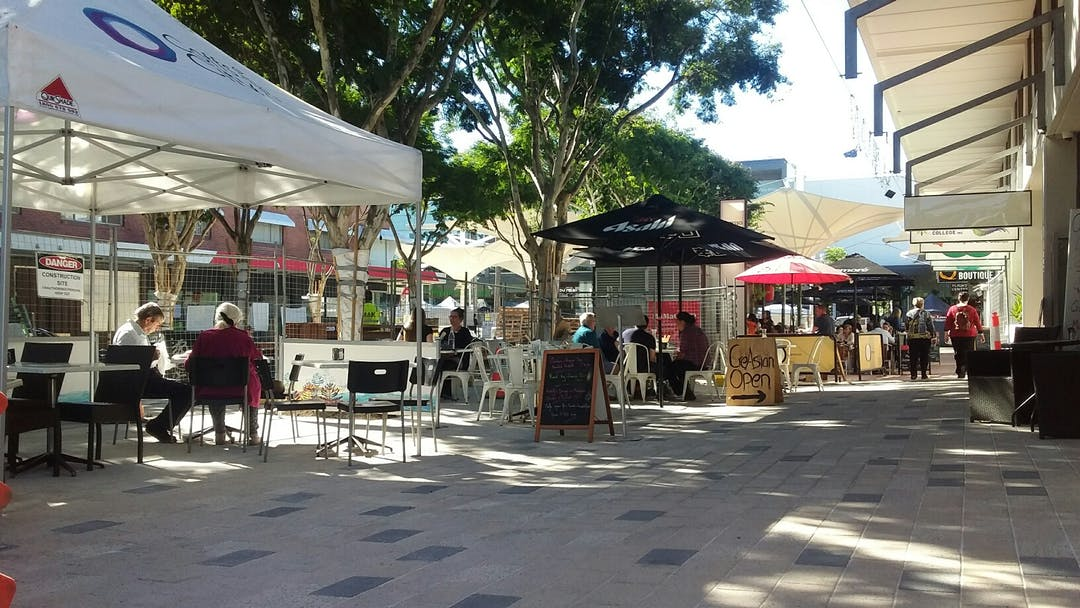 This Temporary Pedestrian Flow Plan is in place from 30 June 2019 to 5 June, to enable safety and efficiency in the next stage of works to upgrade the Coffs City Square.