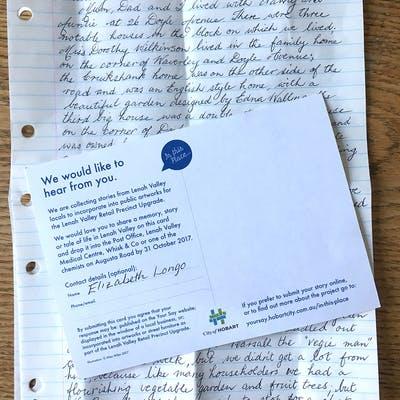 Lv Postcard Happymemories Letter