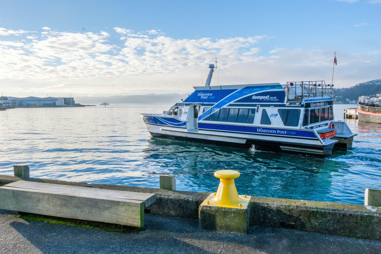 Wellington harbour ferry