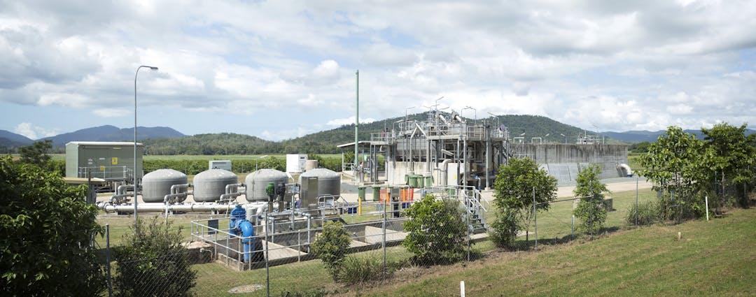 Proserpine sewage treatment plant