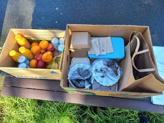 Thanks to the lovely locals who dropped off morning tea for the crew working on site.jpg