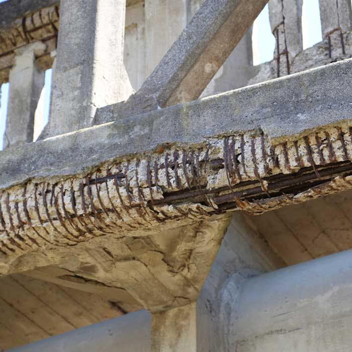 Concrete decay