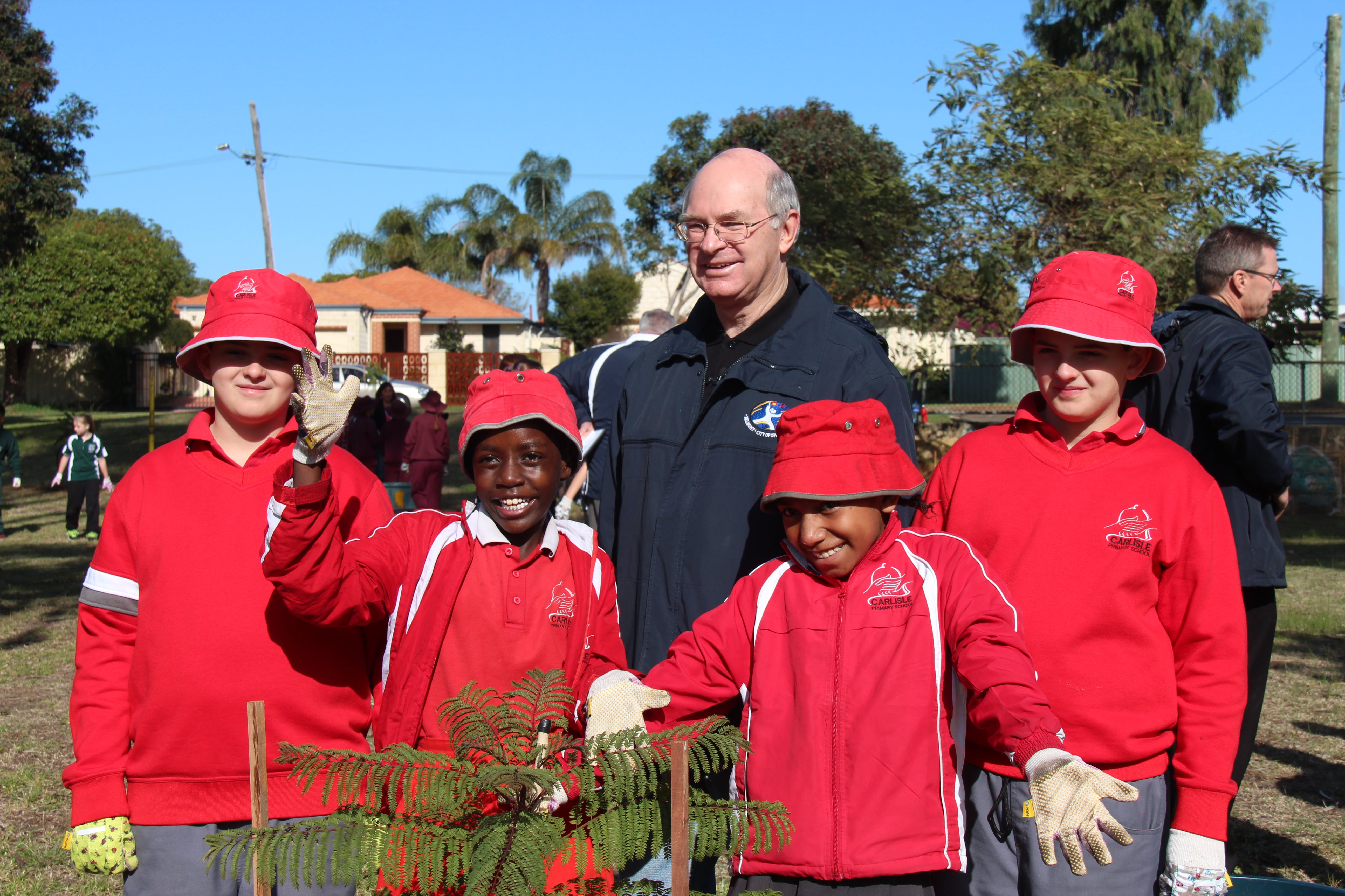 School Tree Planting Day