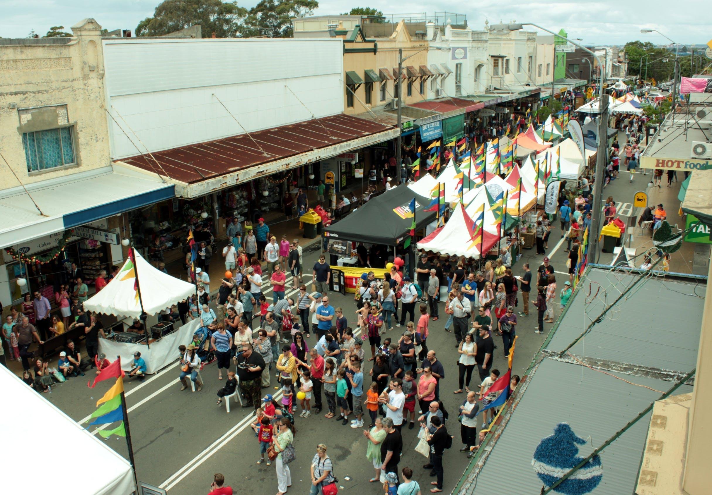 Photo Dulwich Hill Village Fair 1 Dec2013