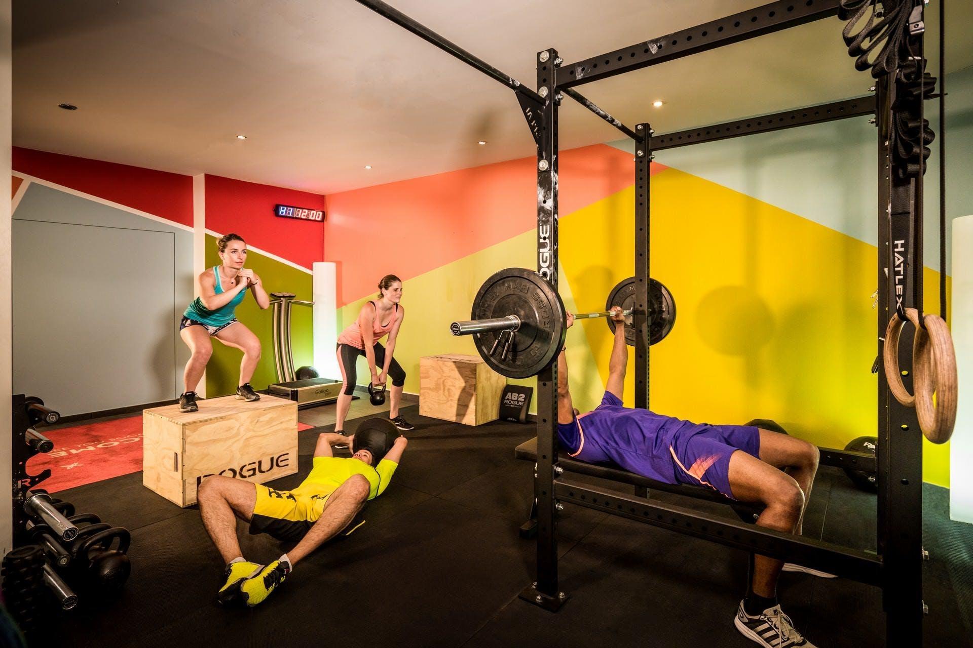 Max Parker: fitness centre inspiration
