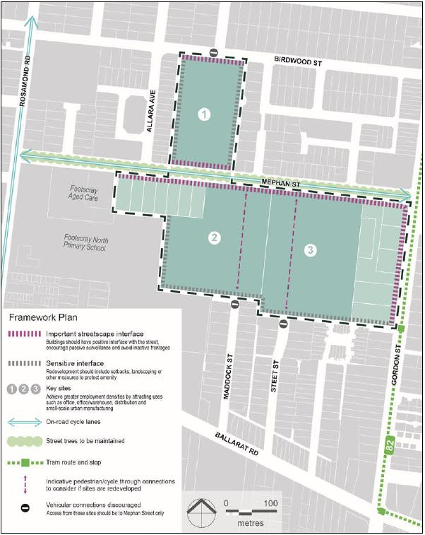 Framework Plan to be added to the Planning Scheme