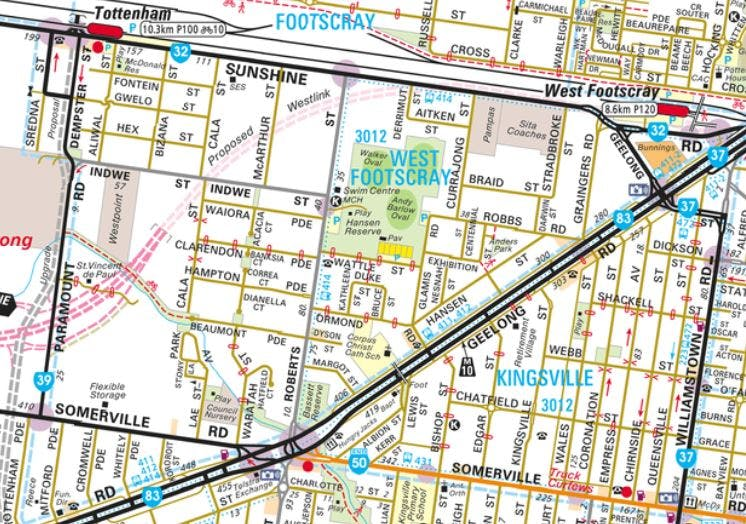 Kingsville / West Footscray (South)