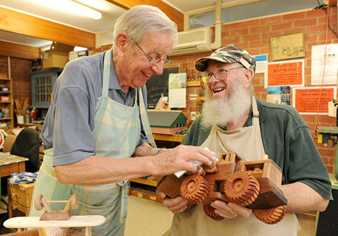 Mens shed program