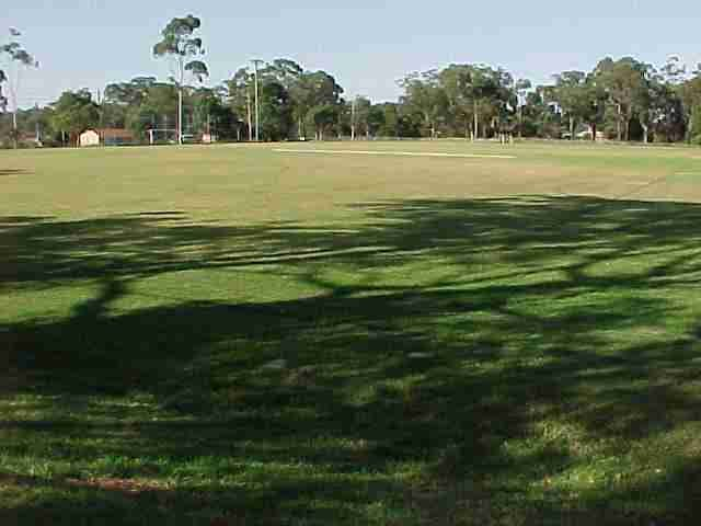 Blaxland Oval. Several fields and sports clubs.
