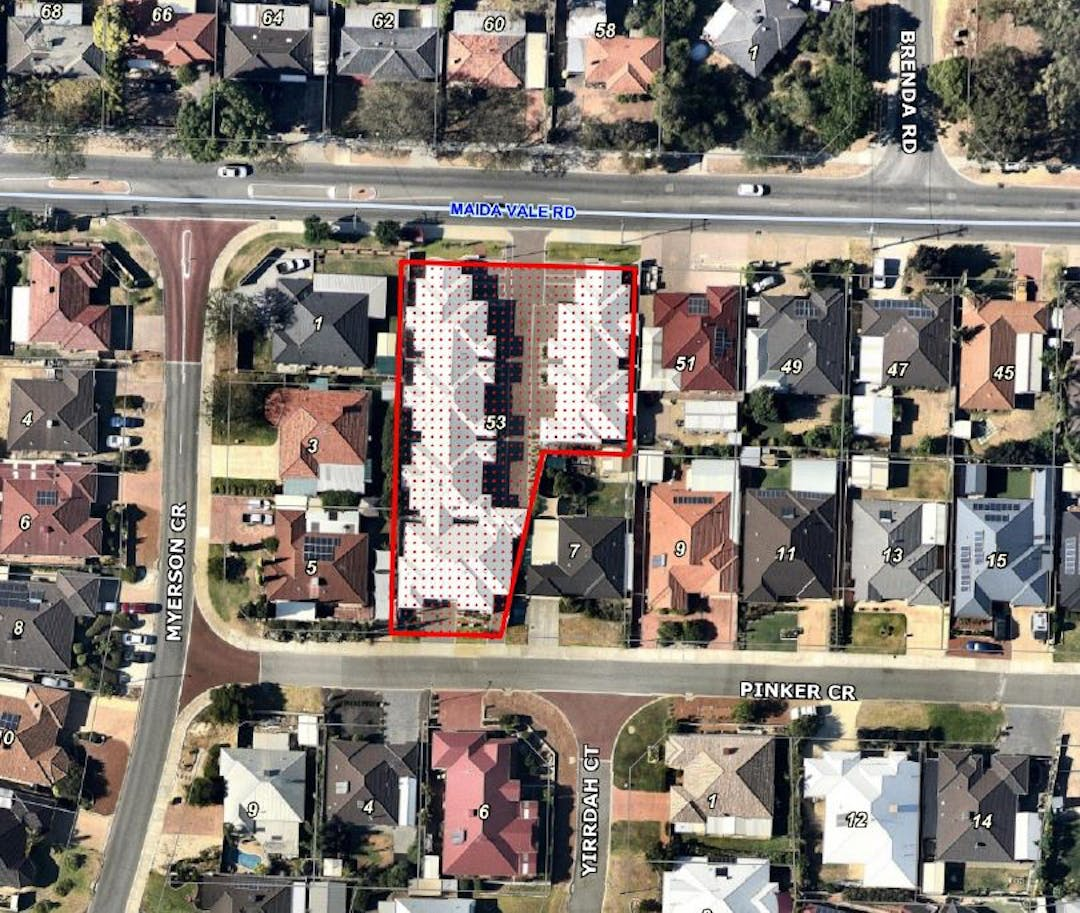 The City of Kalamunda has received an application for an amendment to the Maida Vale Cell 6 Local Structure Plan. The proposed amendment involves the density increase from R40 to R60 for Lot 256 (No.53) Maida Vale Road, Maida Vale.