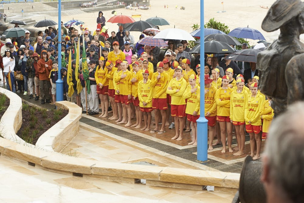 Fallen Lifesavers Memorial official opening 27 April 2014