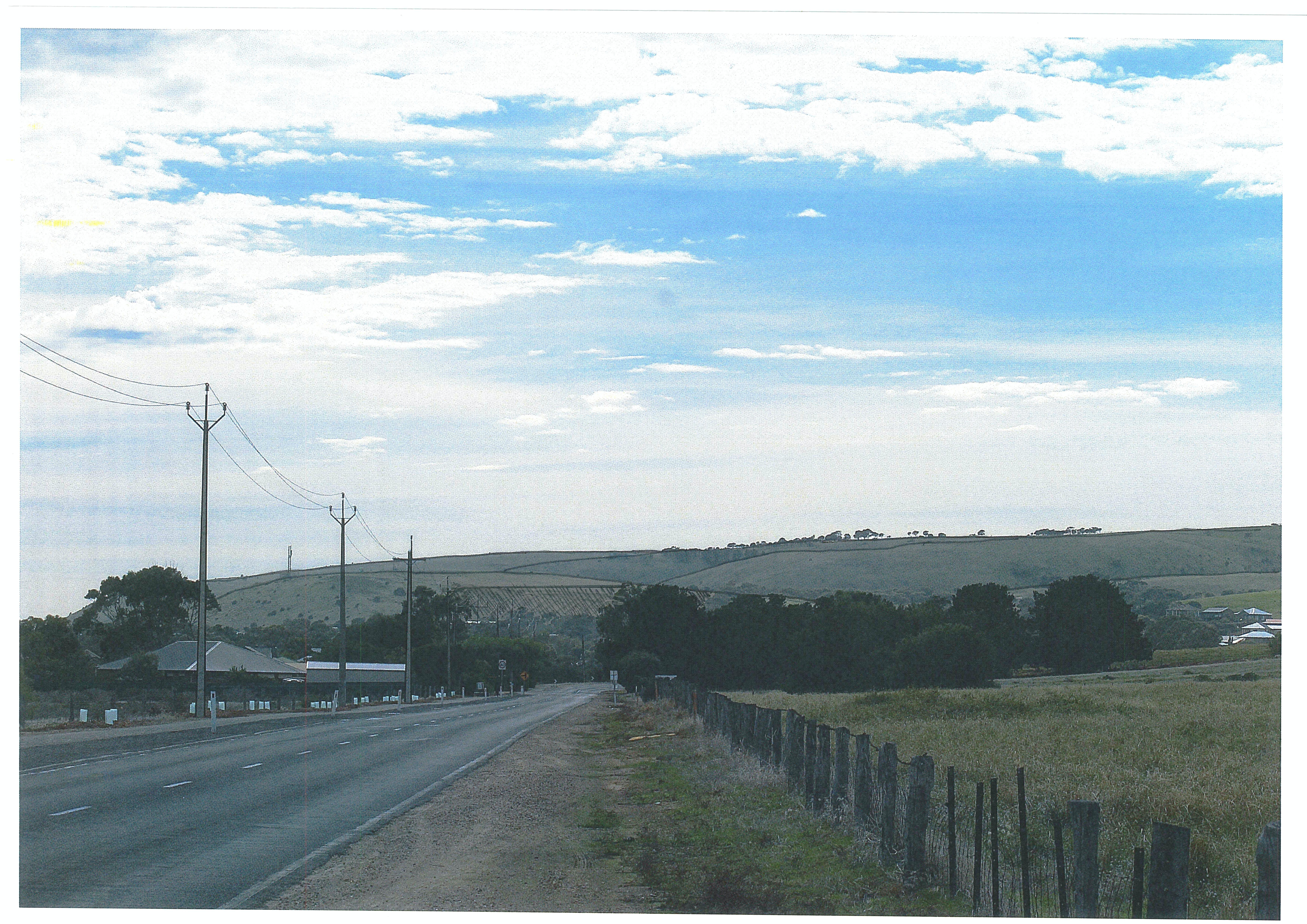View Of DPA - Carrickalinga Rd
