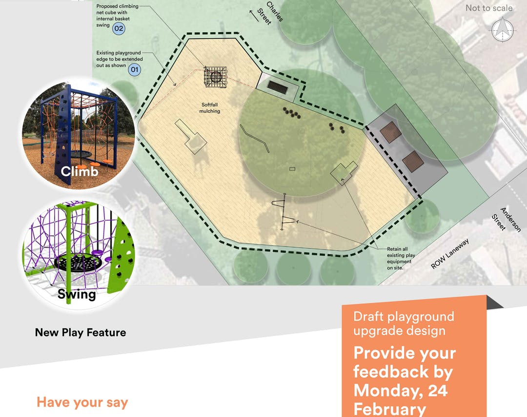 HW Cousins Reserve Additional Playground Equipment (Ascot Vale)