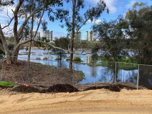 Maylands Construction Excavation - Swan River Foreshore