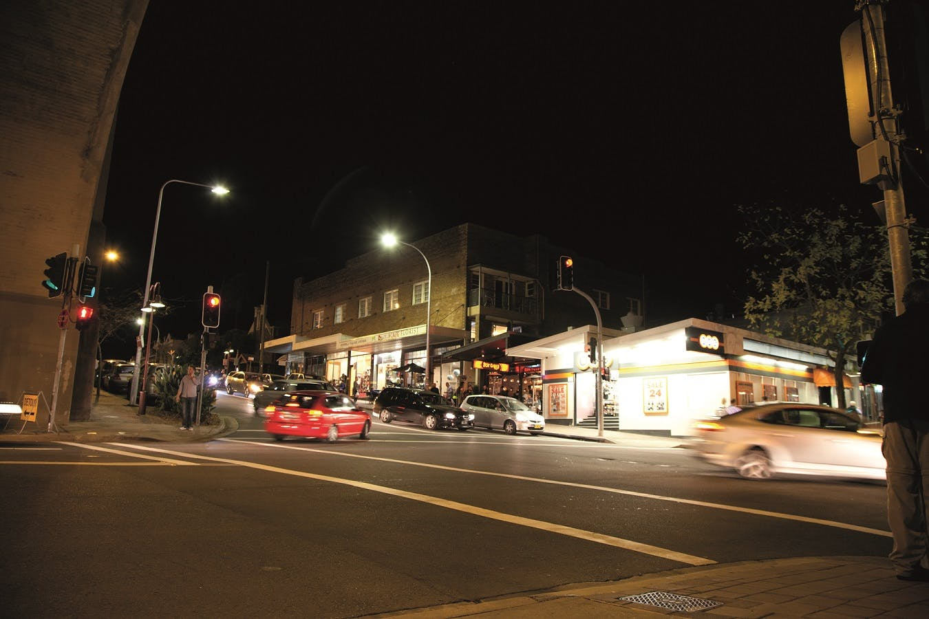Corner of Fitzroy and Broughton Streets