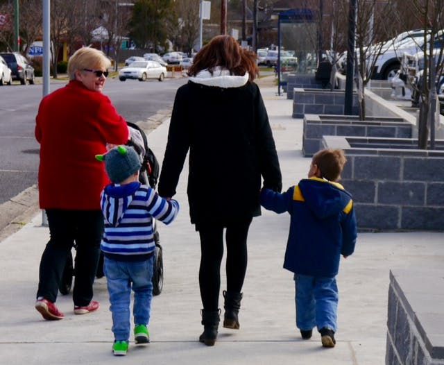 Family Day Care Winter Walk to the Library 2016