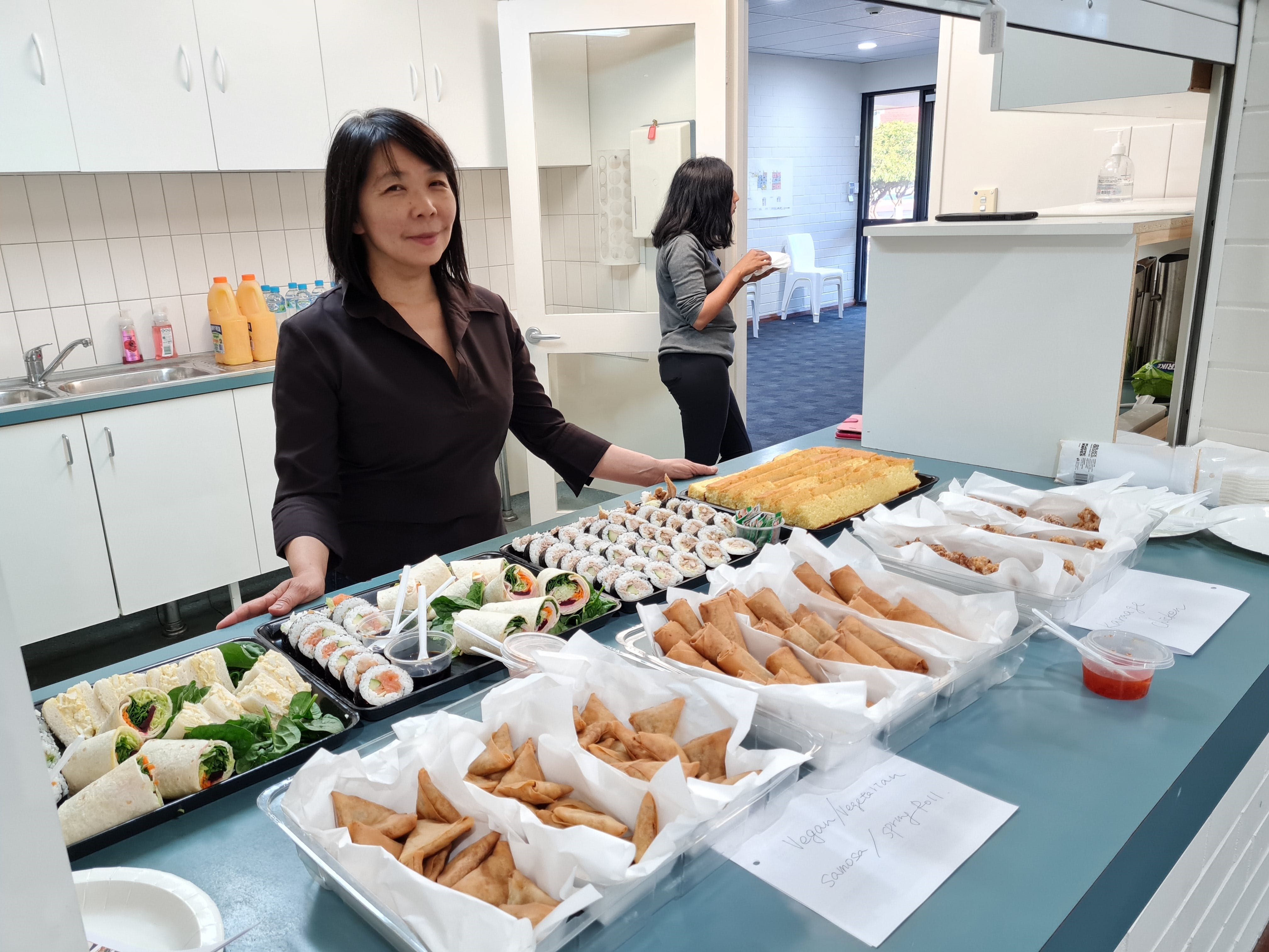 SRG March 21 Catering by Ms. Kyoko