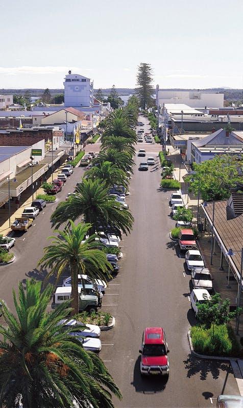 Town centre parking