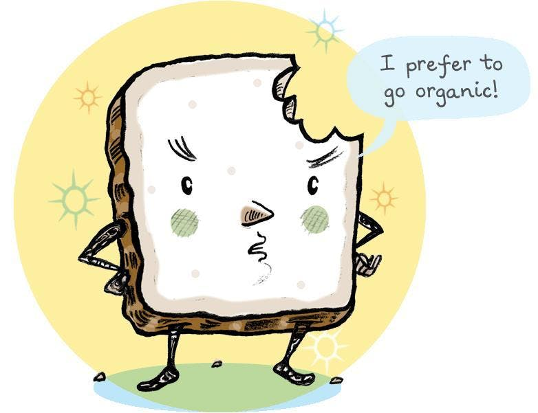 Remember to compost your toast and bread leftovers