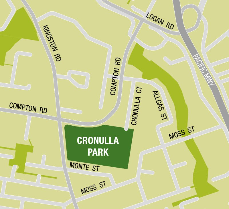 Cronulla Park Location Map