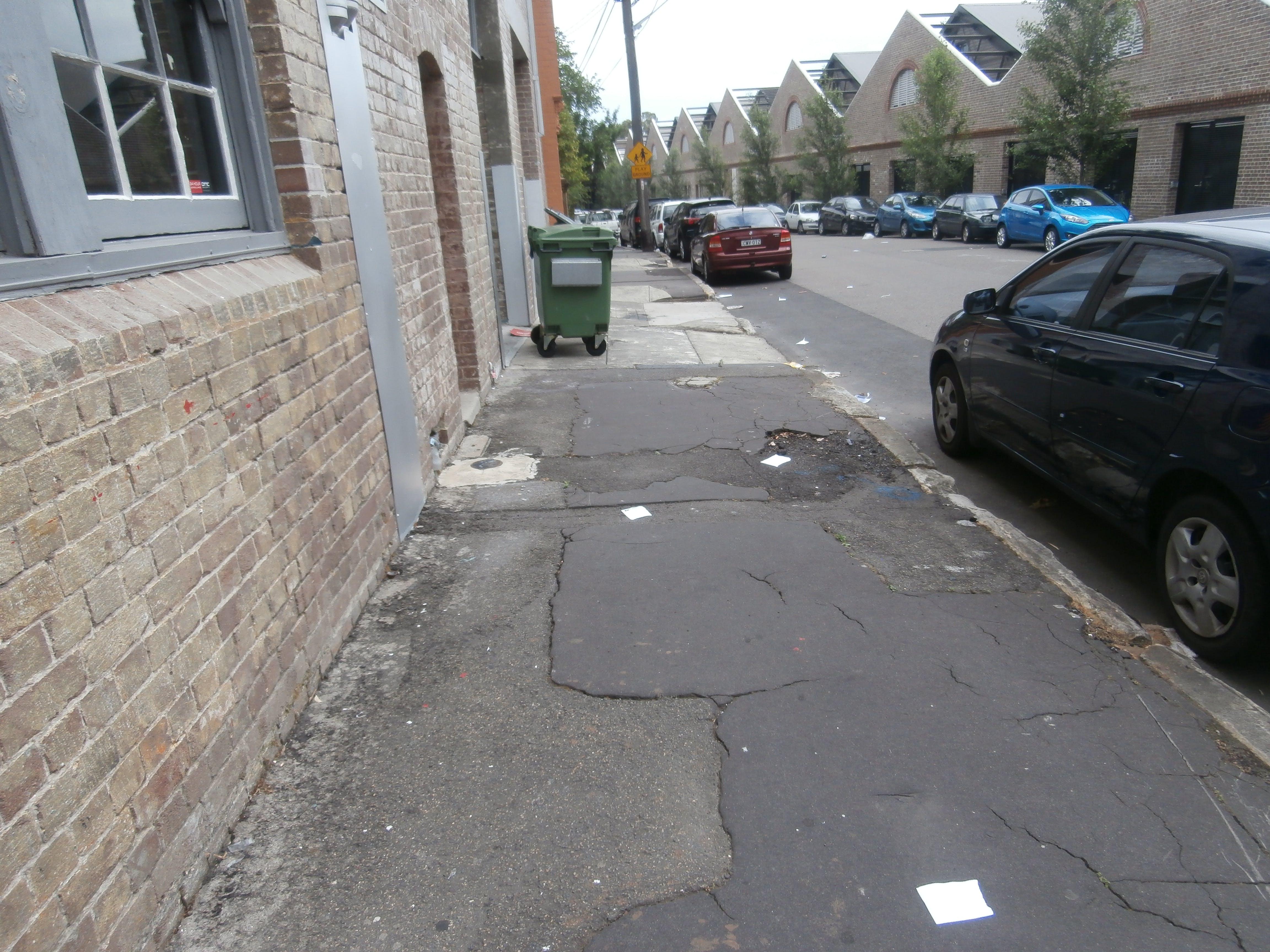 Australia street prior to makeover
