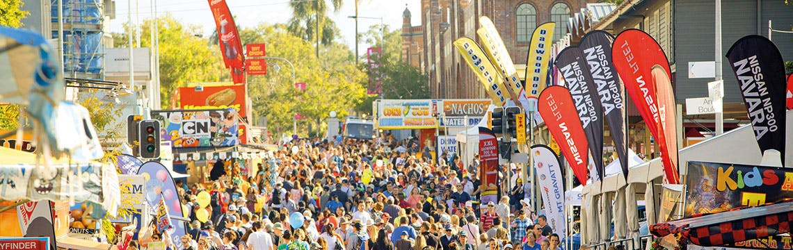 Brisbane Ekka 2015 in Bowen Hills