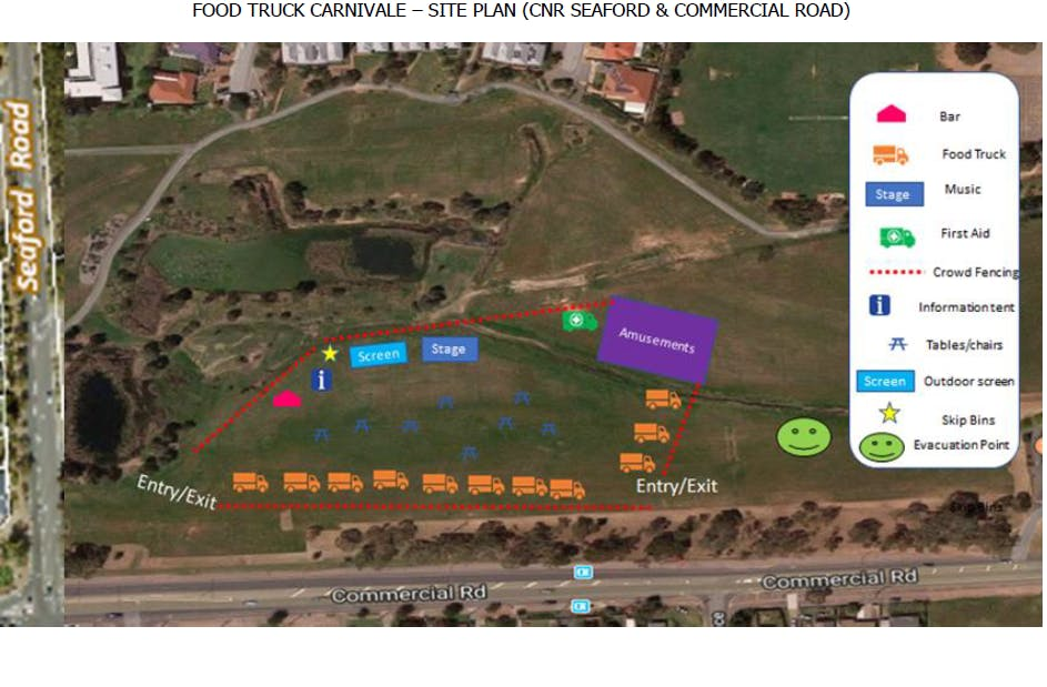 Site Plan - Lot 1., Seaford Rd CT5976/38 in Seaford