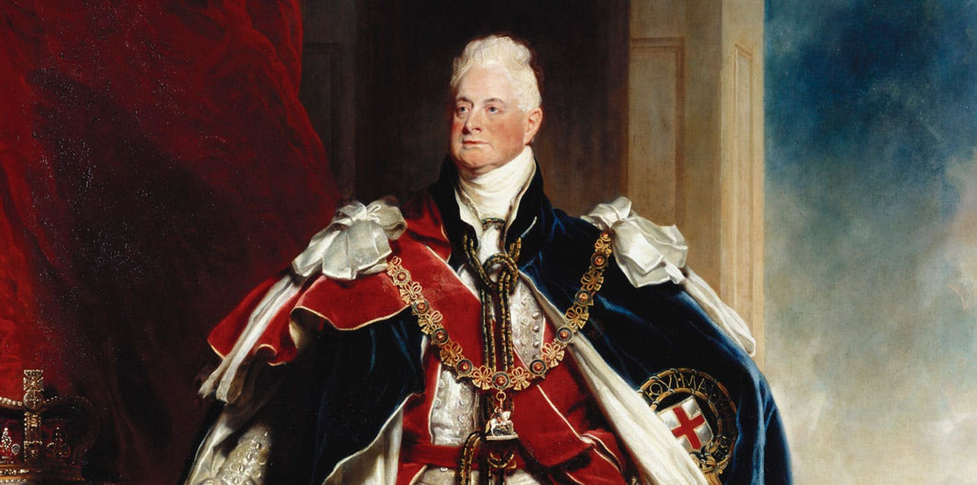 King William IV of England