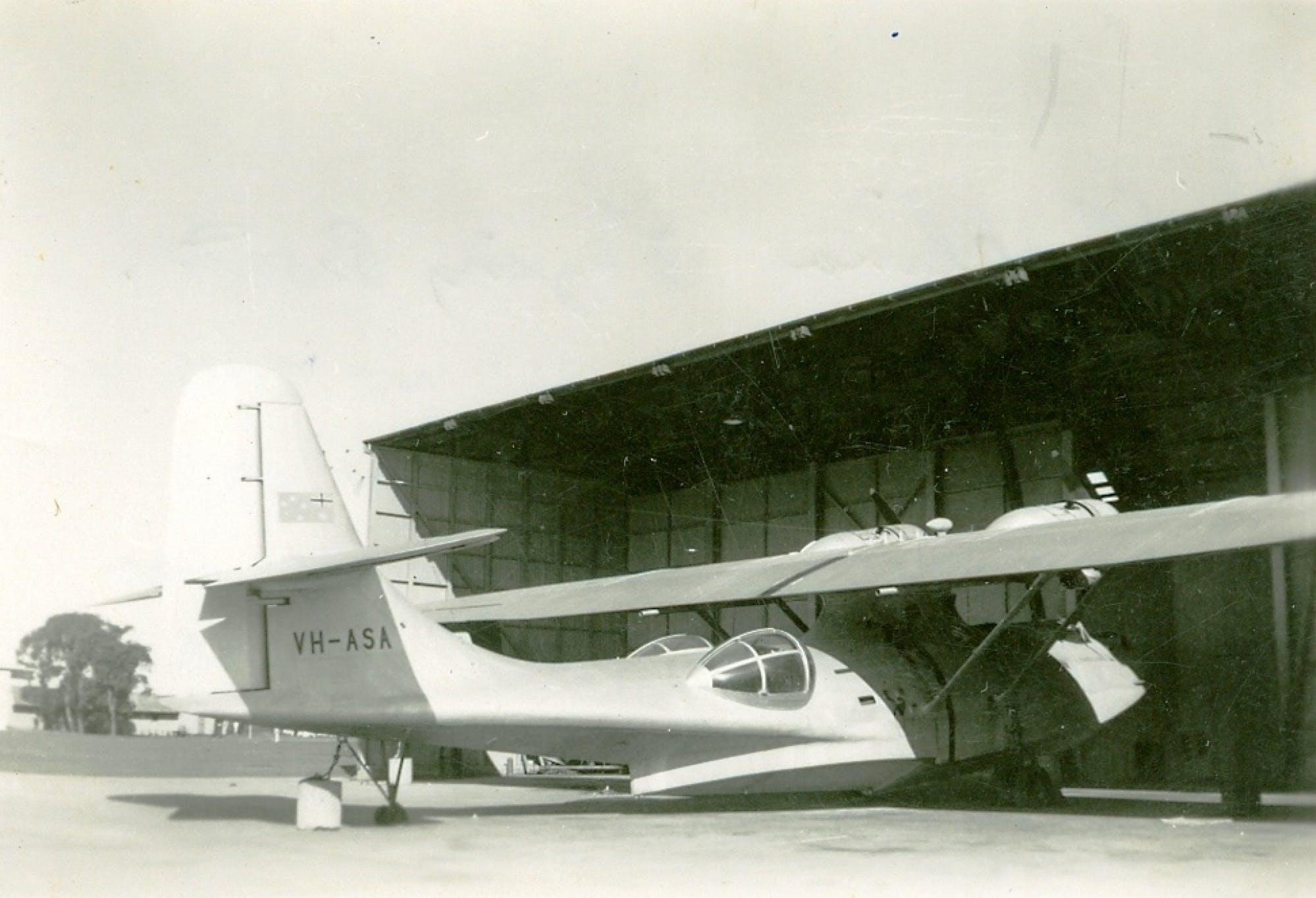 Catalina Flying Boat At Rathmines Air Base