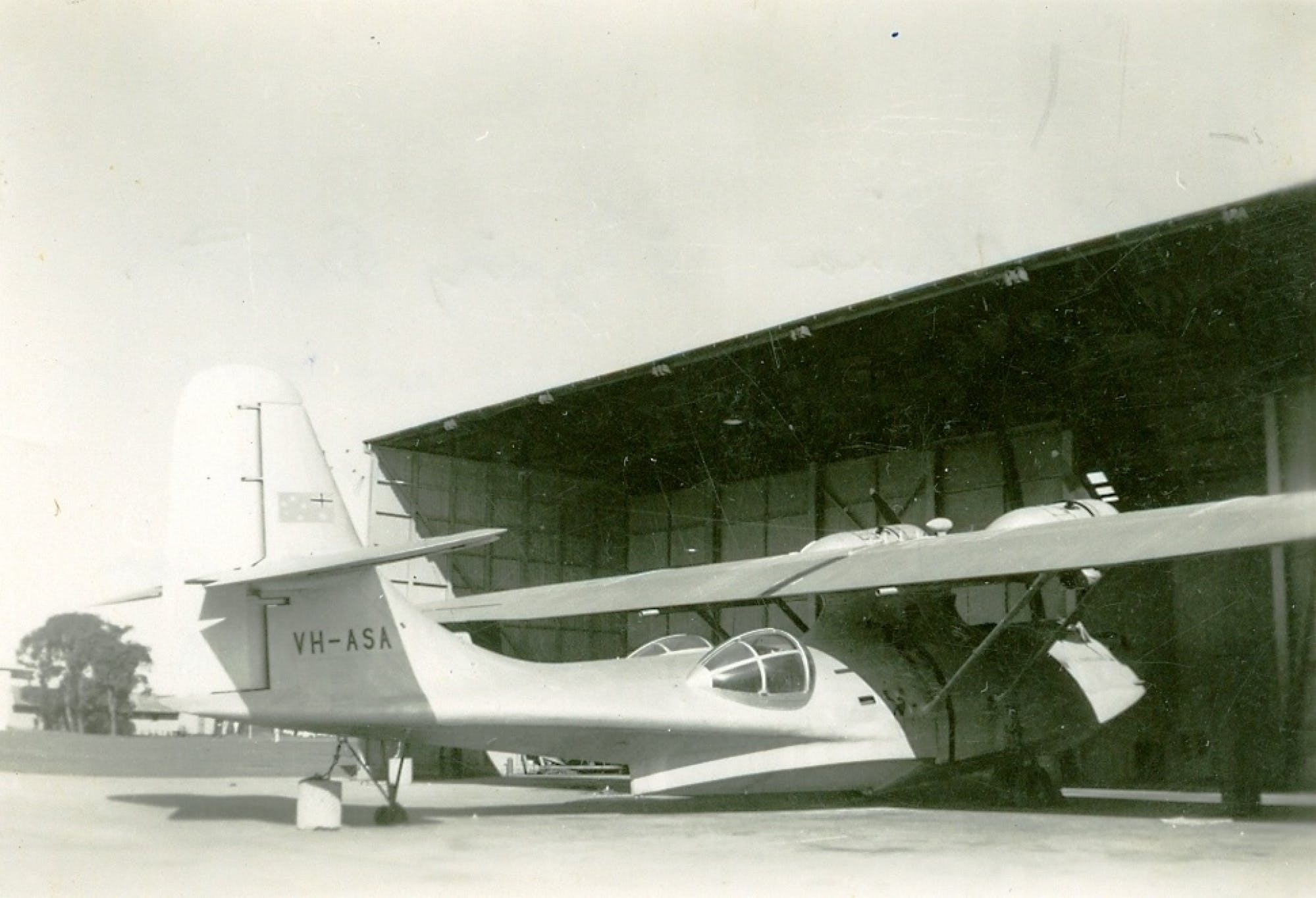 Catalina Flying Boat At Rathmines Air Base