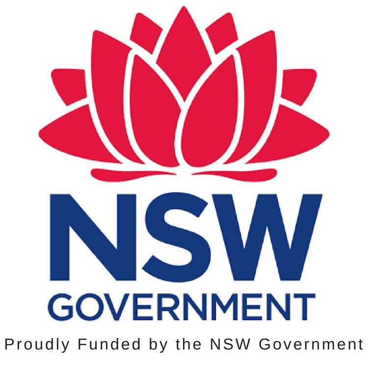 Proudly funded by NSW Govt