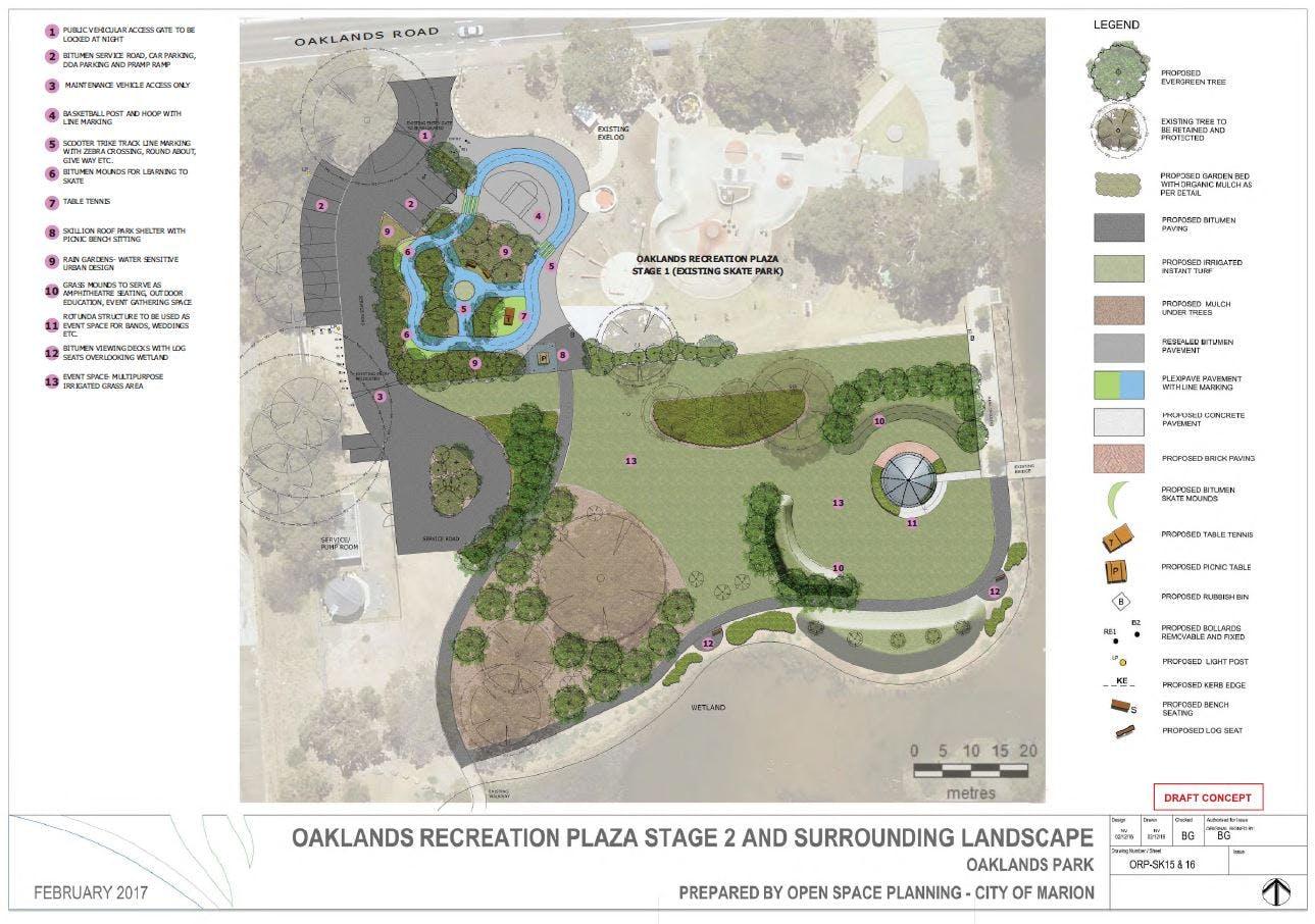 Oaklands Recreation Plaza