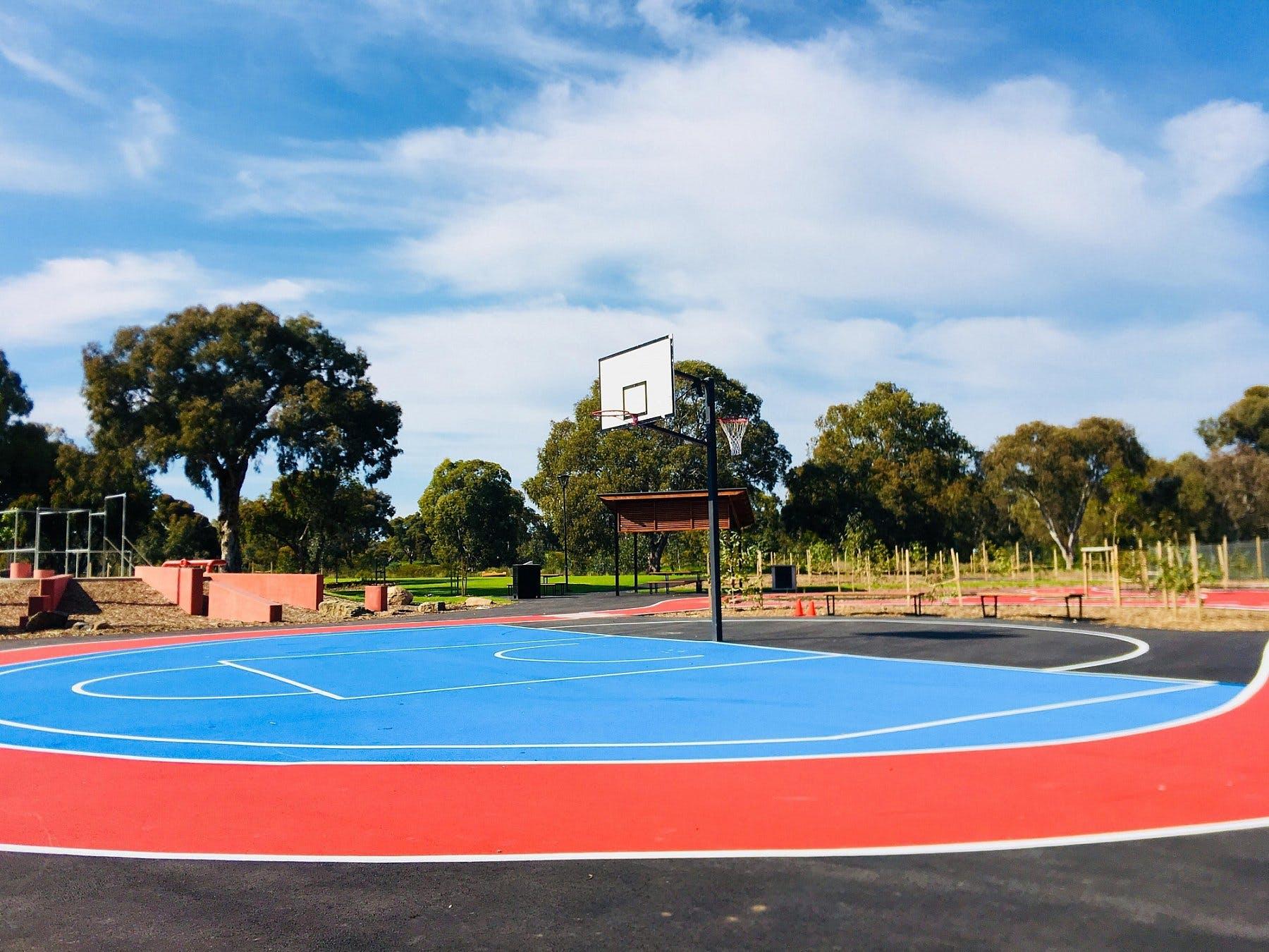 Oaklands Reserve Oaklands Recreation Plaza Sports Basketball