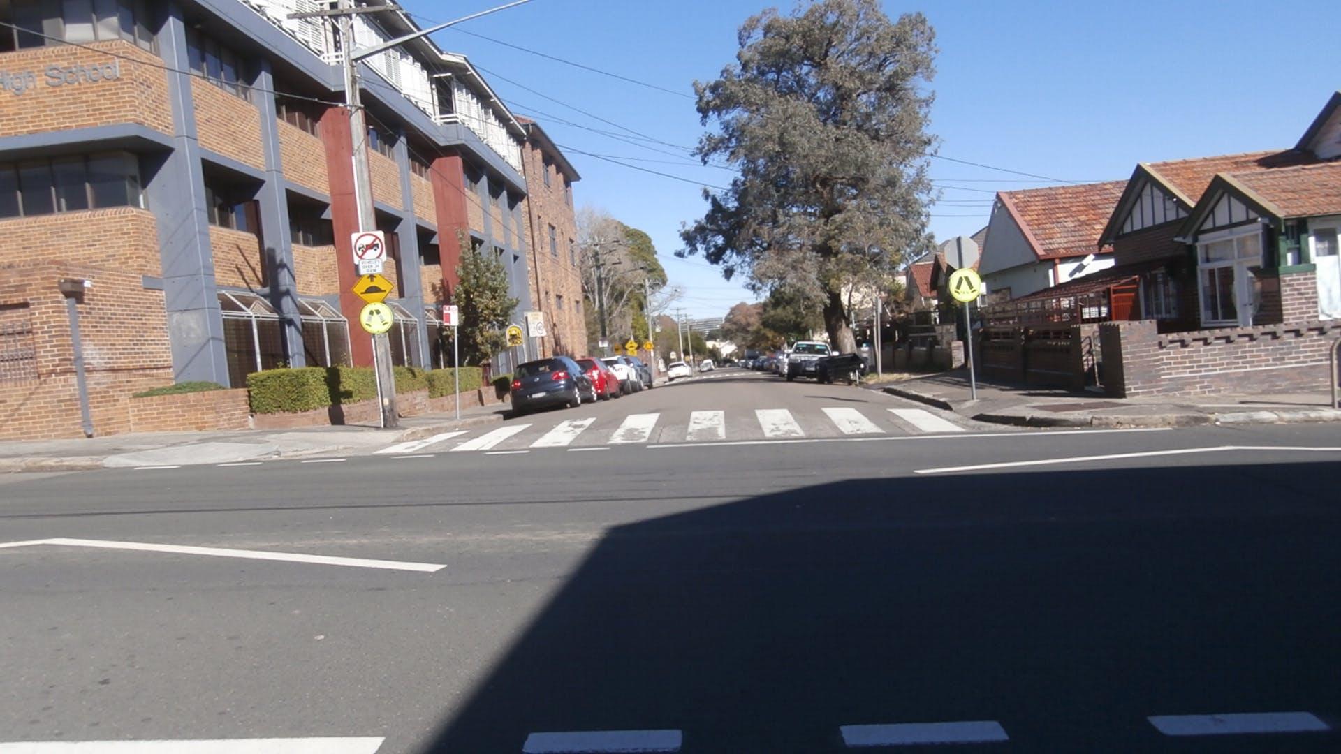 Denison Road Lewisham intersection near Toothill Street