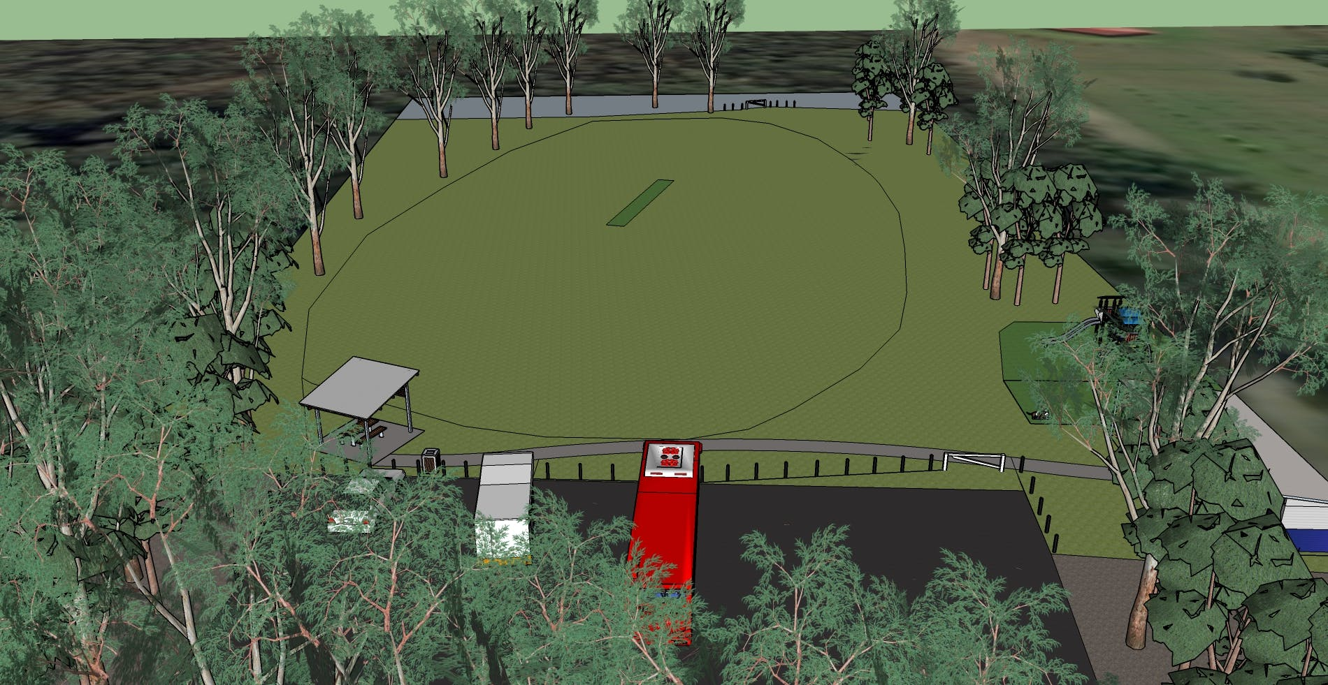 Bilpin Park Draft Provision of Works - View 2