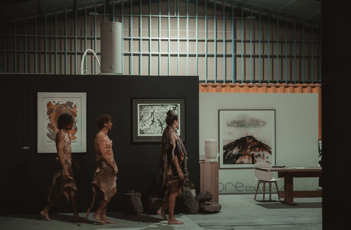 Palawa Kipli's cultural dinning event - LongHouse 2019