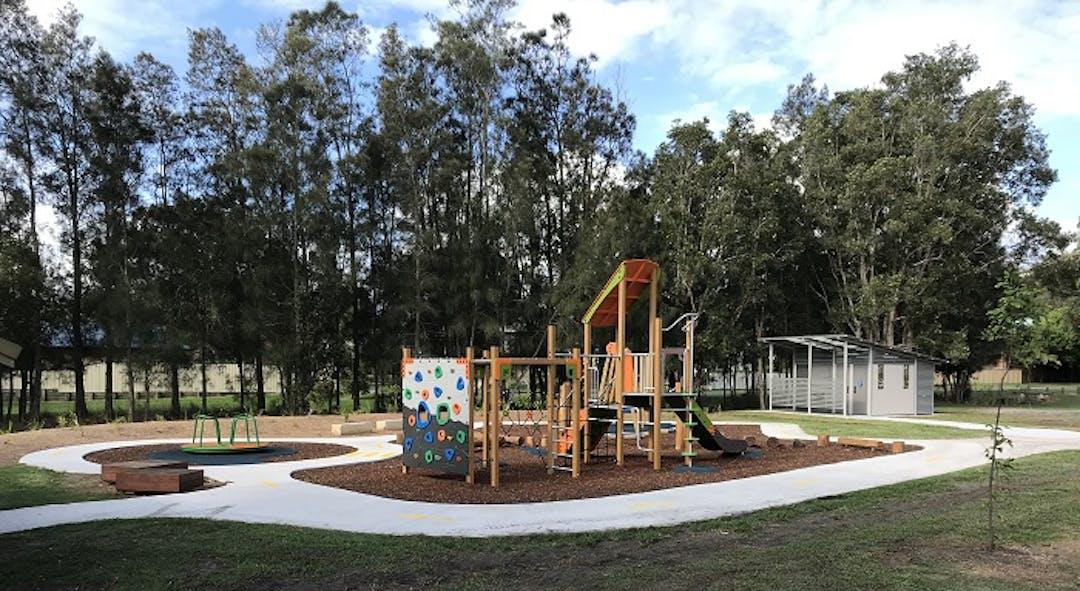 Playground and amenities