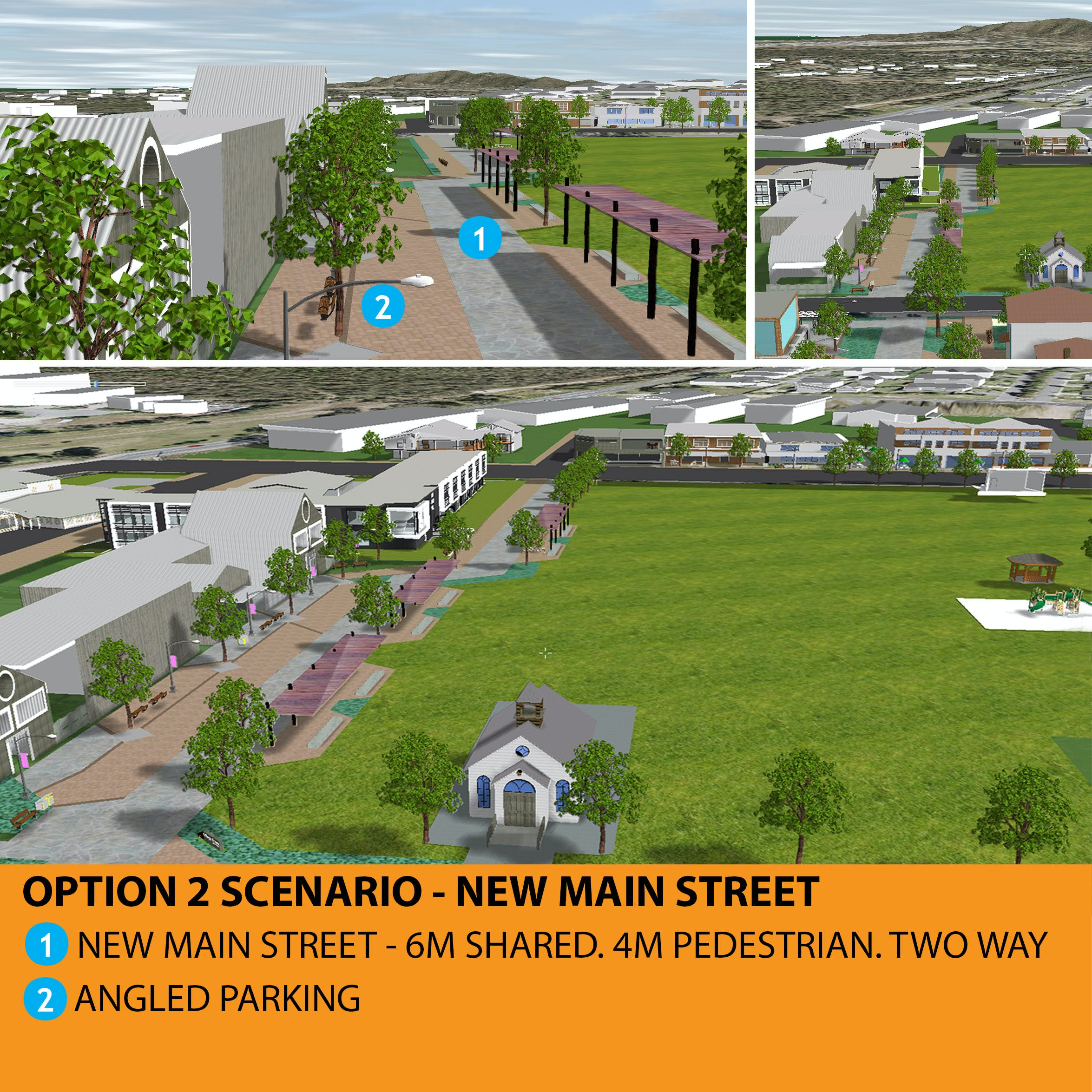 Logan Village Option 2 Scenario