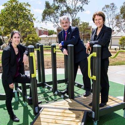 Seniors Exercise Park Launch